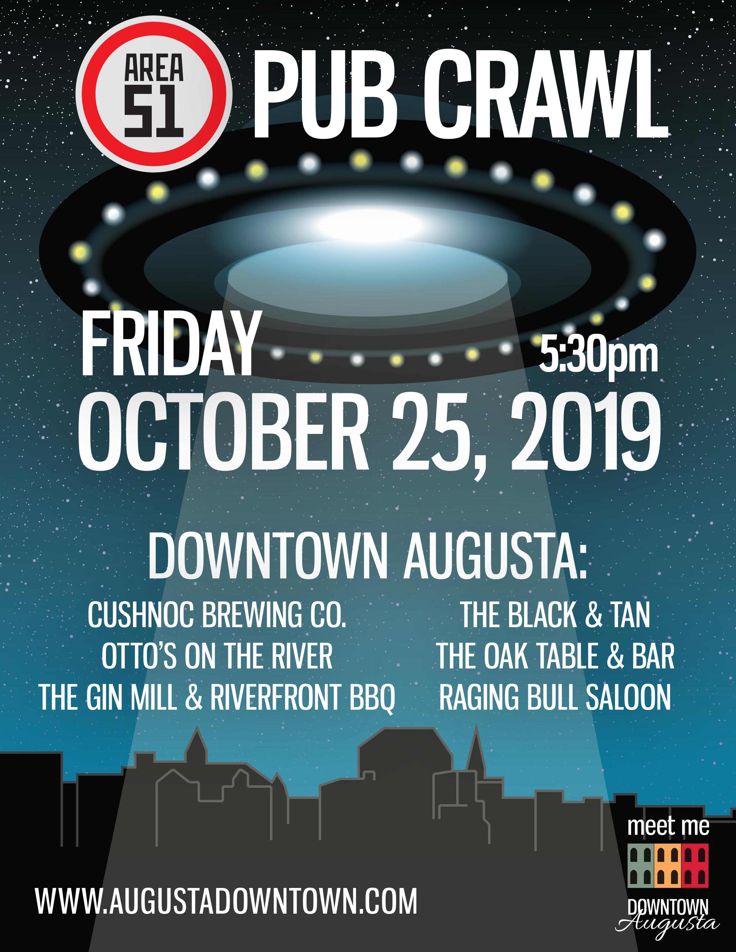 Augusta Halloween Pub Crawl 2020 Halloween in Downtown Augusta