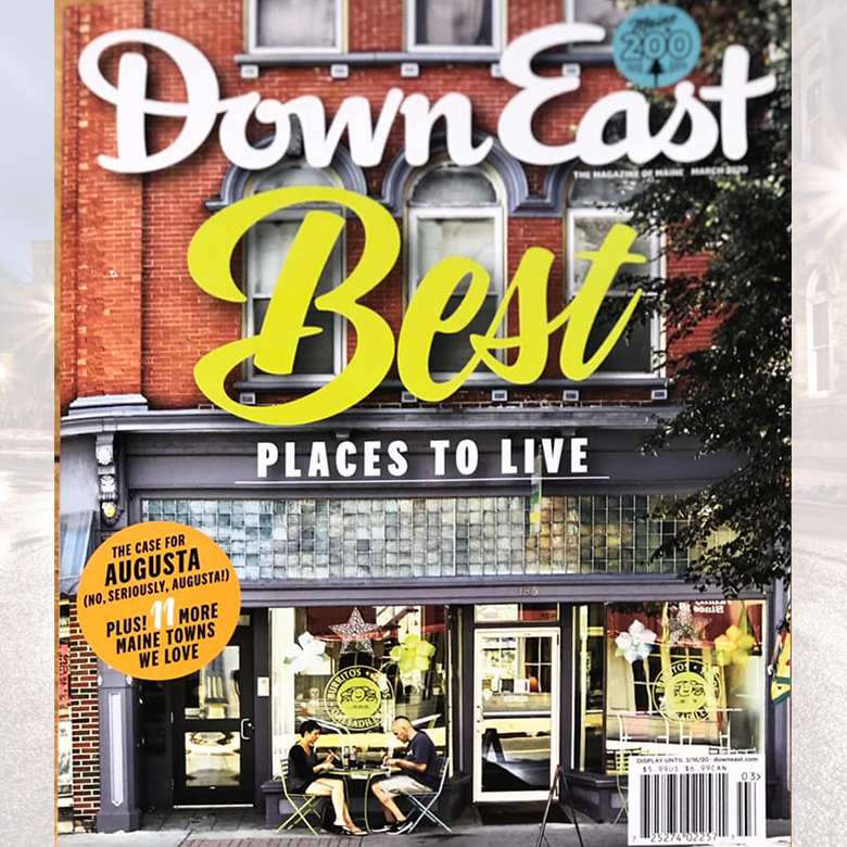 Augusta on the Cover of DownEast Magazine